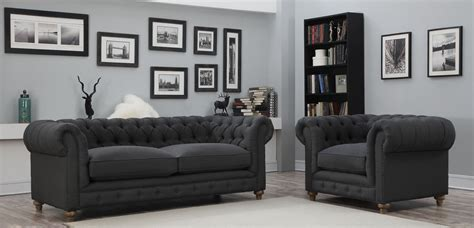 Oxford Grey oxford gray linen living room set from tov s34 coleman