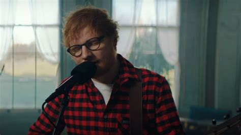 ed sheeran latest song listen to ed sheeran s new song how would you feel paean