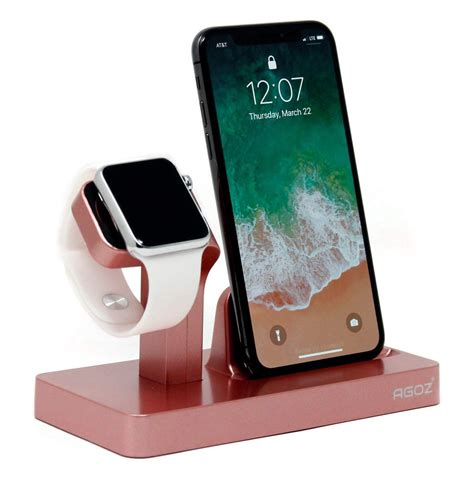 rose gold charging dock stand station charger holder  apple  iwatch series