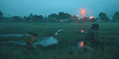 simon stalenhag latest artwork  coolector