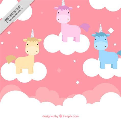 imagenes de unicornios a color unic 243 rnios pequenos coloridos nas roupas baixar vetores