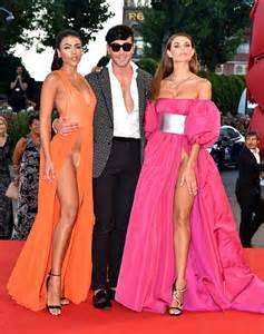 Mello suffer major wardrobe malfunction on film festival red carpet