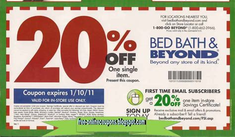 coupons bed bath beyond printable printable coupons 2017 bed bath and beyond coupons