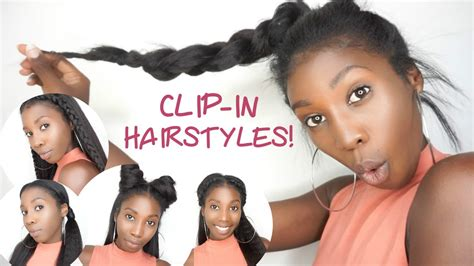 sleek fall hairstyles with clip in extensions better clip in hair extensions shaved hairstyle 5 easy clip in