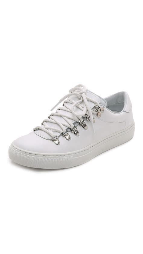 diemme sneakers lyst diemme hiker lace up sneakers in white