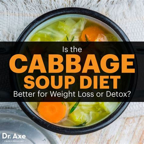 Detox Soup Diet Recipe by The Cabbage Soup Diet For Weight Loss Or Toxin Removal