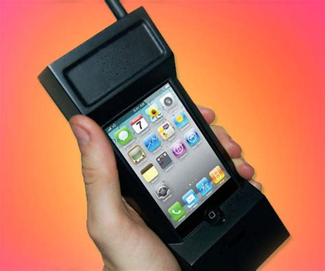80s style iphone