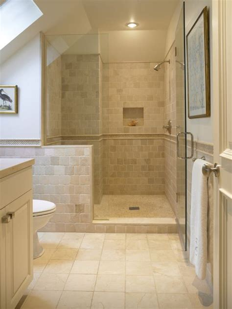 traditional bathroom tile ideas travertine shower houzz