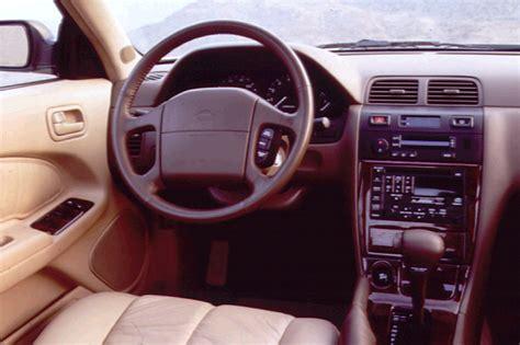 1998 nissan maxima starter 1995 99 nissan maxima consumer guide auto
