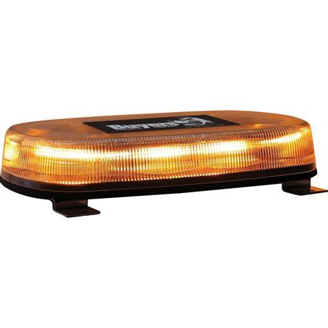 Buyers Products Company Led Permanent Mount Amber Mini Mini Light Bar Led