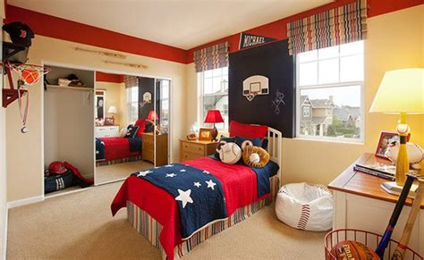boys sports bedroom get athletic with 15 sports bedroom ideas home design lover 10939 | 2 base ball