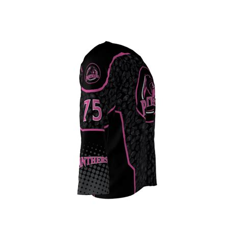 jersey design pink pink panthers jersey sublimation kings
