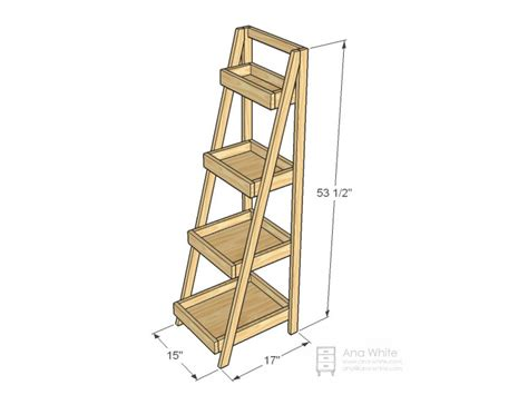 Ladder Bookcase Plans Woodworking Plans Ladder Shelf