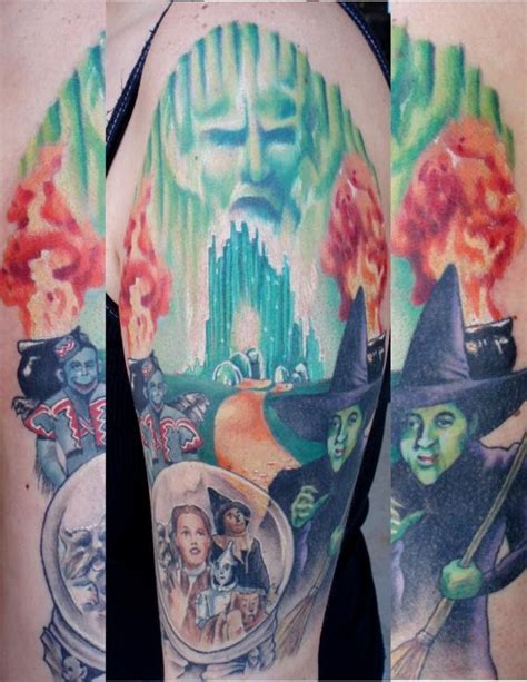 eclectic ink tattoo queen margaret drive wizard of oz tattoos pinterest oz tattoo in love
