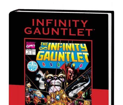 infinity gauntlet hardcover comic books comics