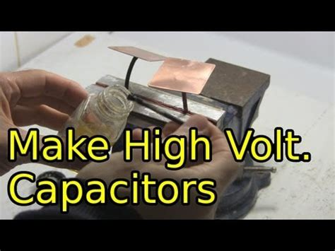 diy capacitor how to make high voltage capacitors diy capacitors