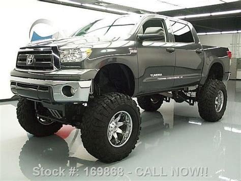 Used Toyota Tundra Crewmax 4x4 For Sale Sell Used 2011 Toyota Tundra Crewmax 4x4 Lifted 20 Quot Wheels