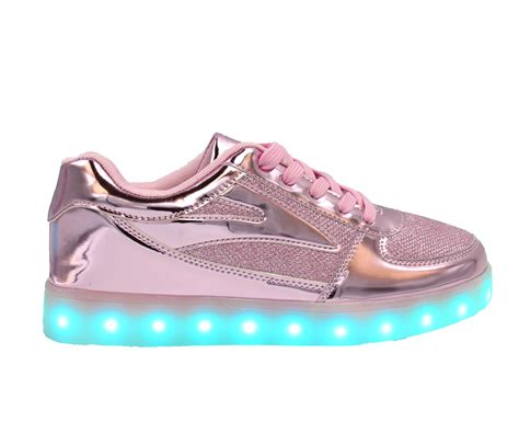 Sh 3 Led Leopard Pink Shoes womens light up shoes shoes for yourstyles