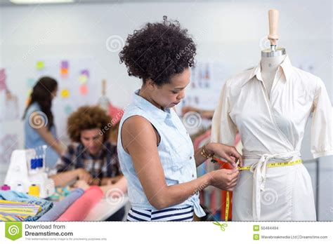 fashion designer at work stock photo image 50484494
