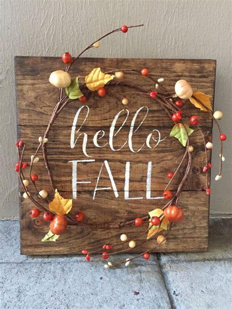 wooden fall decor best 25 fall wood signs ideas on pinterest fall wood