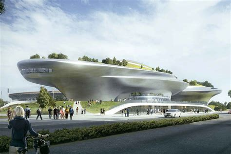 Split Level Designs updated designs for the george lucas museum in exposition