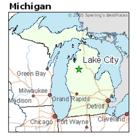 best places to live in lake city michigan