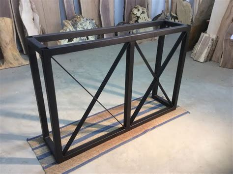 desk 40 inches long ohiowoodlands bar base solid steel bar legs