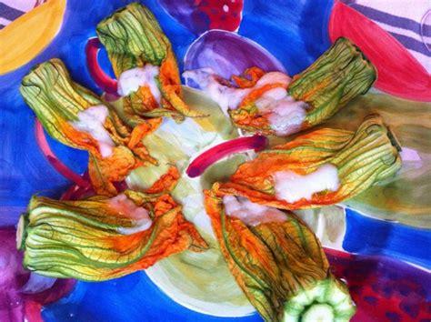 ricetta fiori di zucca light fiori di zucca ripieni light chezuppa chezuppa