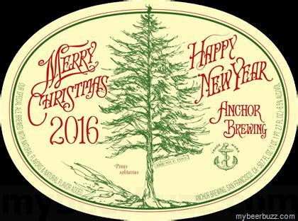 anchor  special ale  merry christmas happy  year  mybeerbuzzcom