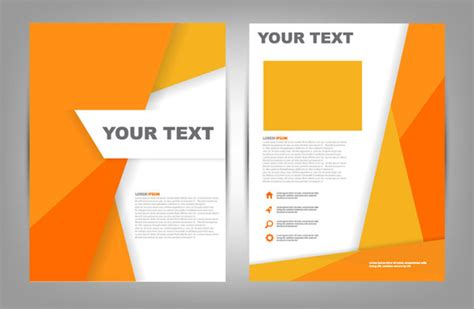 layout cover cdr brochure cover design free vector download 6 147 free