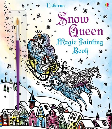 Usborne Jungle Magic Painting Book magic painting the snow queen at usborne children s books