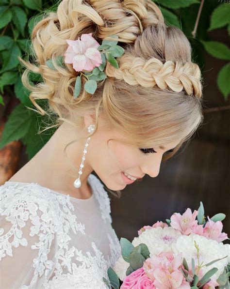 Wedding Hair Updo With Flower by Wedding Hairstyles For Hair