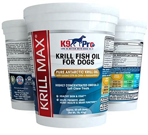 krill for dogs krill max fish for dogs soft moist tasty 350mg omega 3 for dogs with dha epa