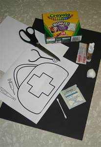 doctor bag craft template doctors bag crafts