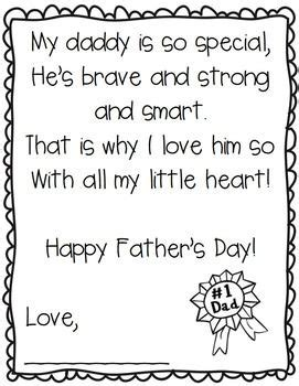 printable children s poems fathers day poems for children inofations for your design