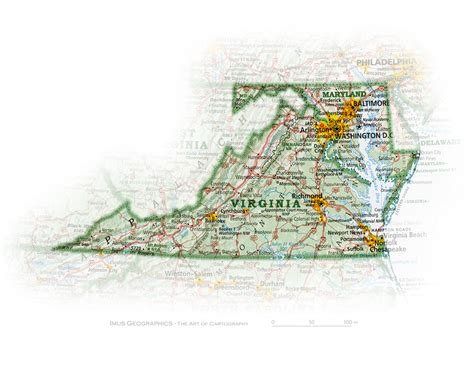 maryland map dc virginia maryland and washington d c state and