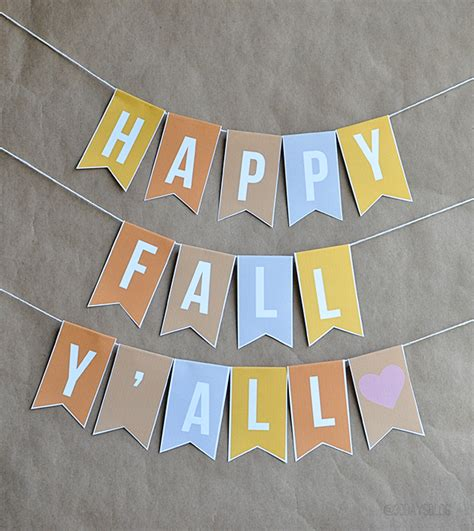 print out decorations fall decorations printable banner