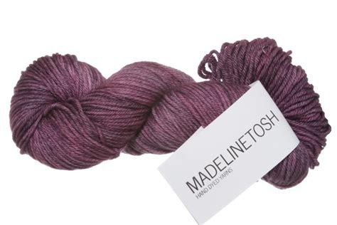 Naura Pashmina Sky Blue madelinetosh pashmina worsted yarn bloom
