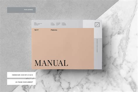 Brand Manual Template Palermo Brand Manual Template Free