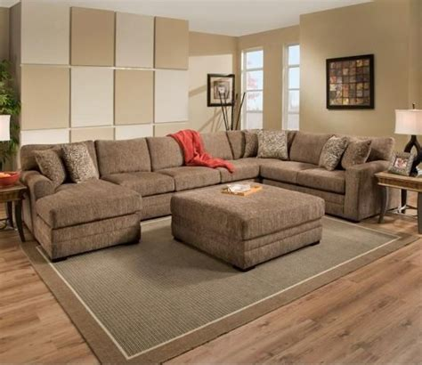 virginia couch 90350 transitional 3 piece sectional sofa by united