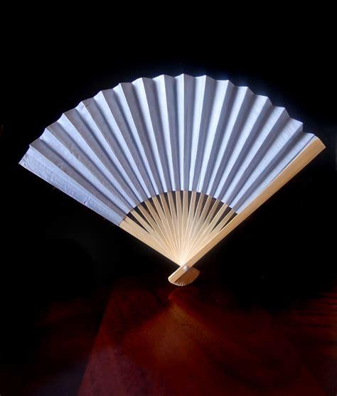Paper Fans - 9 quot silver folding paper fan