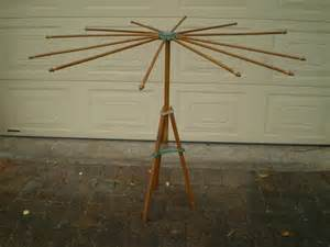 Wooden Clothes Dryer Rack Australiana Vintage Wooden Collapsable Dri Rak