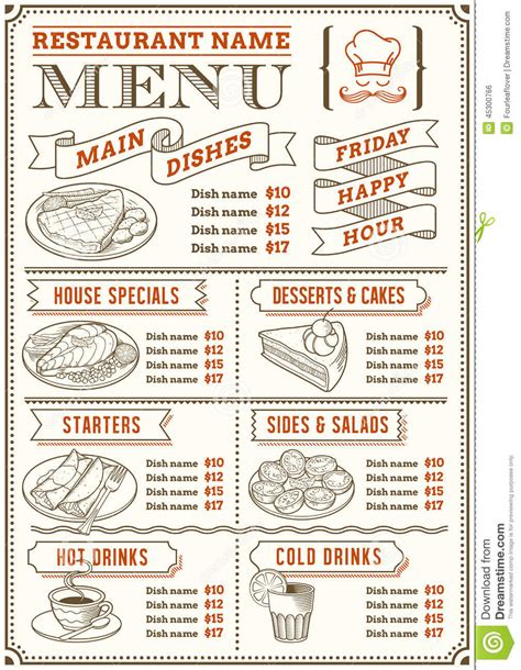 snack bar menu template 1000 images about menu design on beautiful