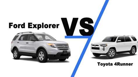 toyota fortuner vs 4runner 2014 ford explorer vs toyota 4runner