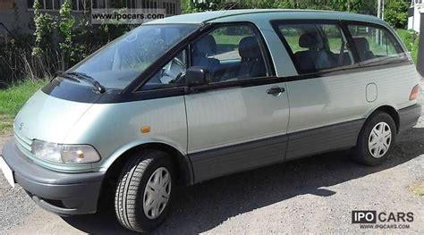 1999 Toyota Previa 1999 Toyota Previa Gl Car Photo And Specs