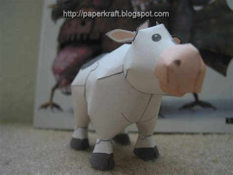 Cow Papercraft - harvest moon papercraft cow