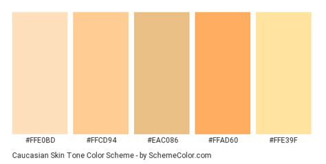 skin color hex code caucasian skin tone color scheme 187 187 schemecolor