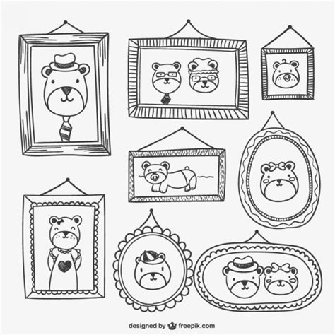 cornici dwg frames and portraits drawings vector free