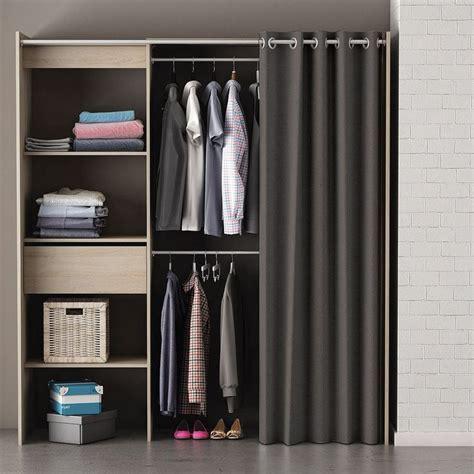 Vorhang Vor Regal by Die Besten 25 Kleiderschrank Mit Vorhang Ideen Auf