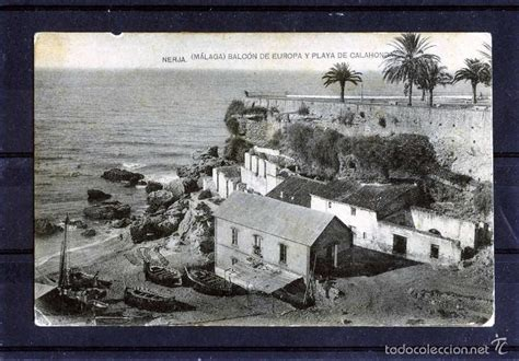 fotos antiguas nerja postal de nerja malaga edicion fototipia hause comprar